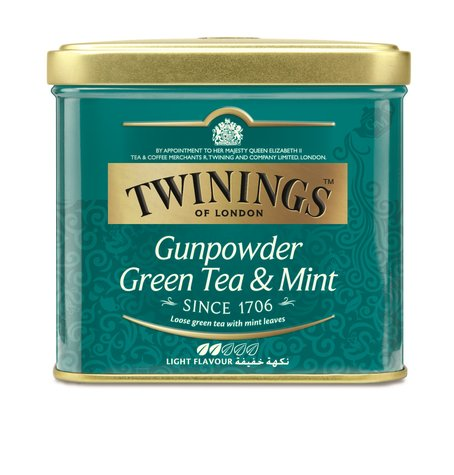 Gun powder and mint TIN