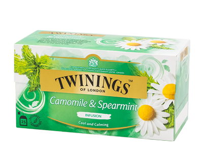 Camomile and Spearmint infusion