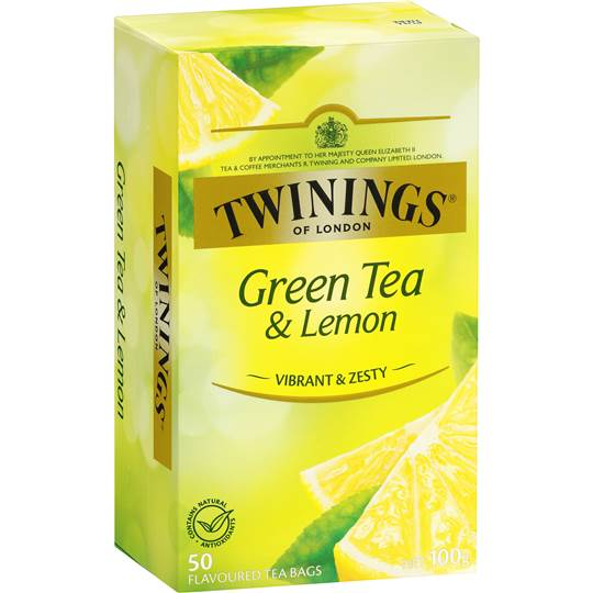 Green Tea and Lemon
