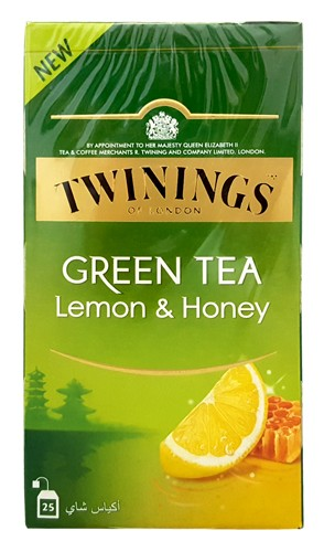 GREEN TEA LEMON AND HONEY