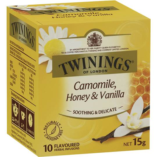 CAMOMILE HONEY And  VANELLA Infusion