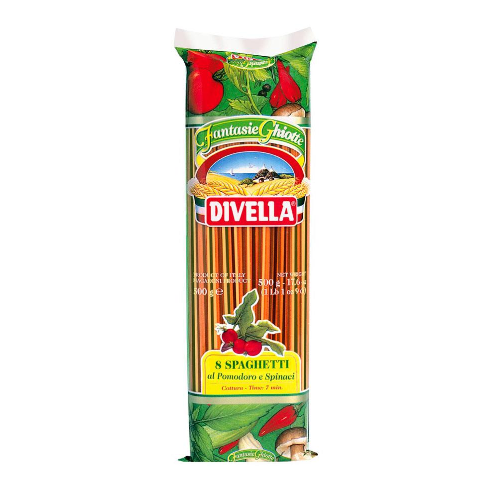 Spaghetti Al Pomodoroe/Spinaci 8